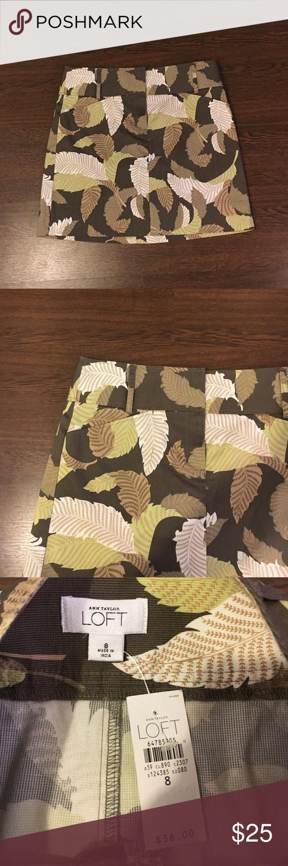 Ann Taylor LOFT Skirt size 8 Ann Taylor LOFT Print Skirt. Size 8. Brand new with tags. Ann Taylor Skirts