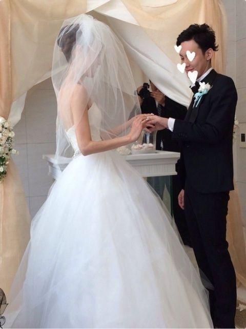 25b52757baad8 ♡指輪の交換〜誓いのキス♡