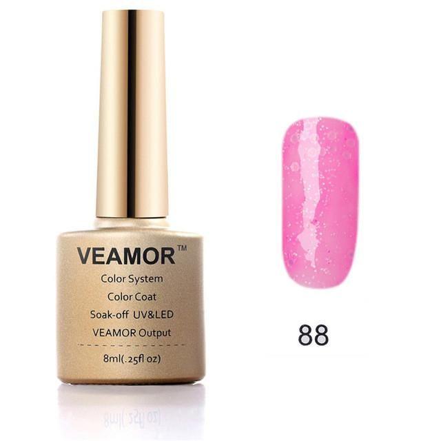 VEAMOR Glitter Series - Top Coat /Base Coat & Gel Polish