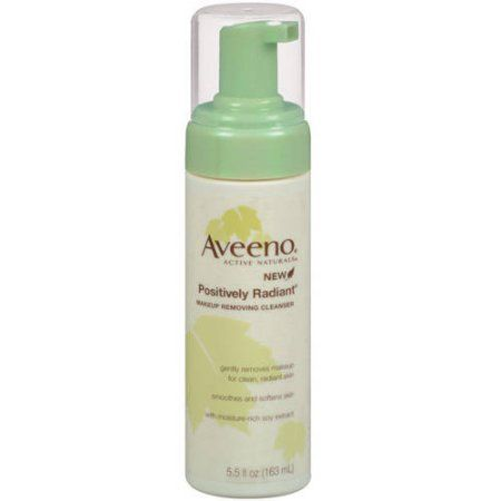 Aveeno: Positively Radiant Makeup Removing Cleanser Pump Cleansers, 5.50 fl oz