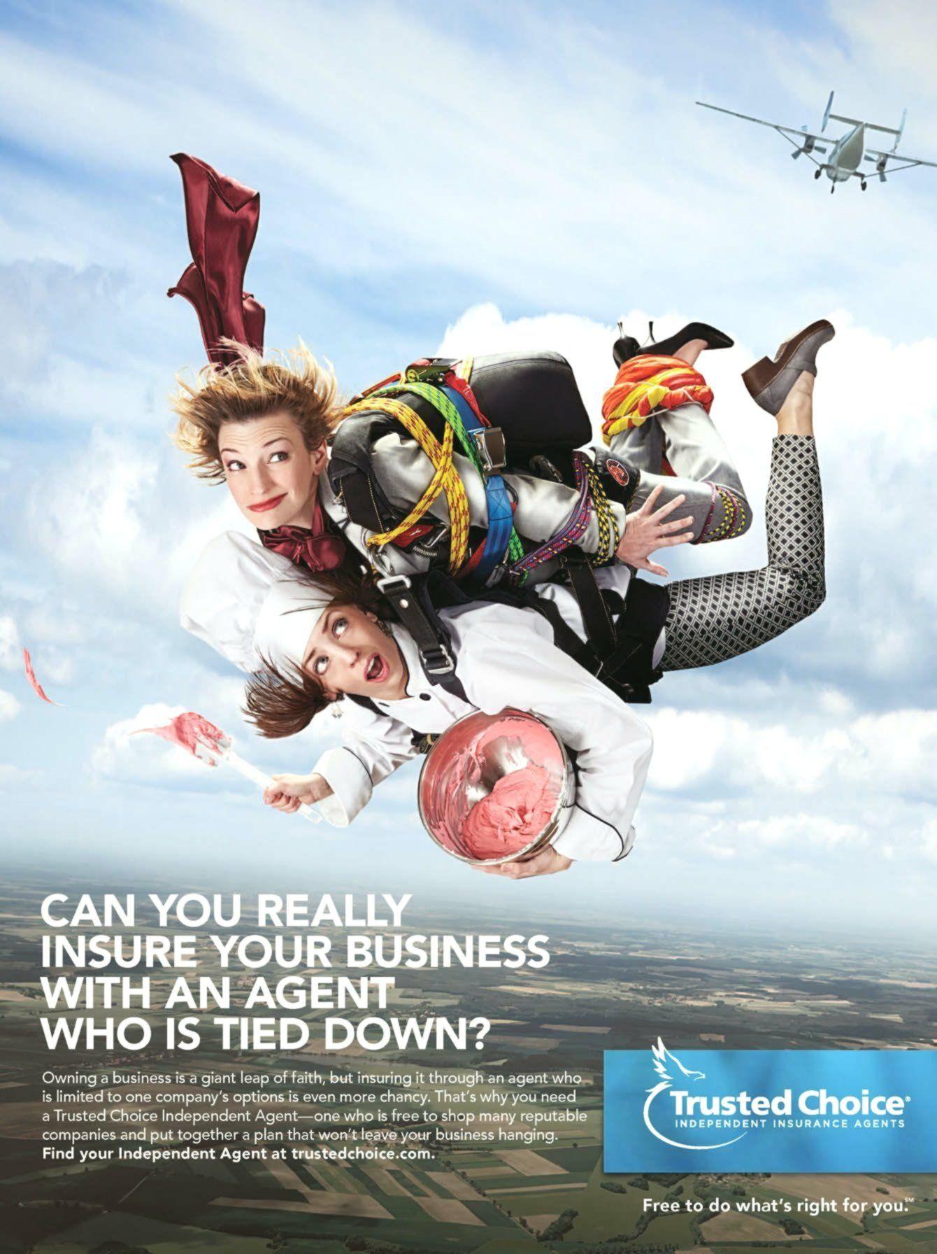 Insurance advertisement advertising agency seguro de
