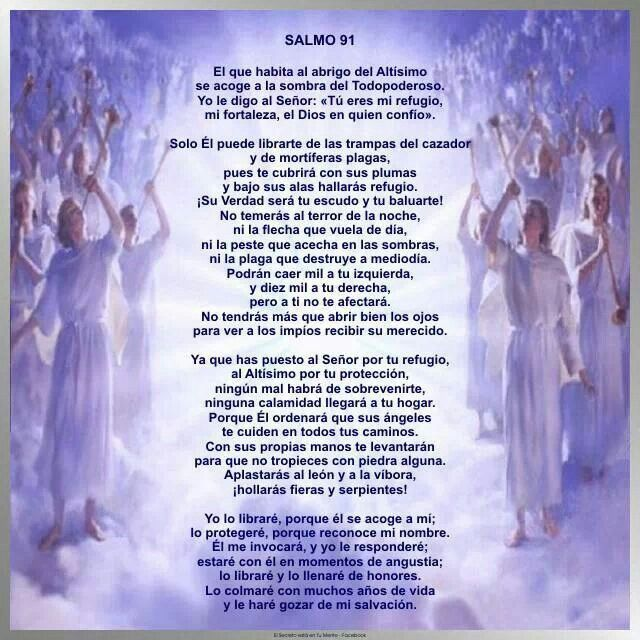 Salmo 91 | CATOLICO! | Pinterest