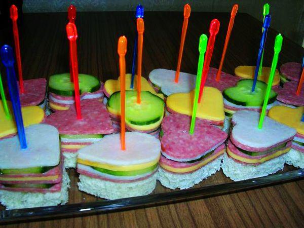 Канапе. Рецепты с фото для детей - канапе на праздничный ...