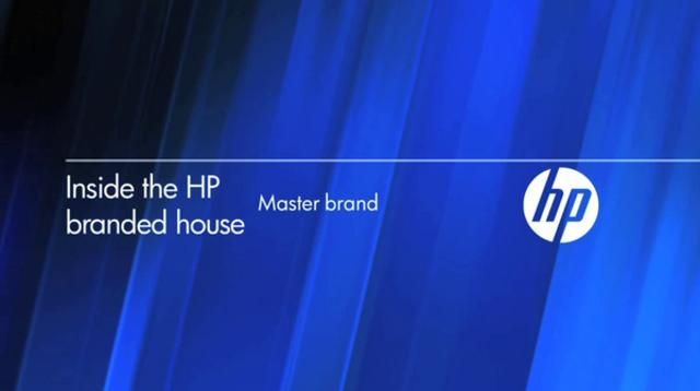 HP Identity and Design System by Moving Brands®.