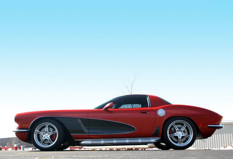crc c5 corvette just look at that silhouette classic. Black Bedroom Furniture Sets. Home Design Ideas