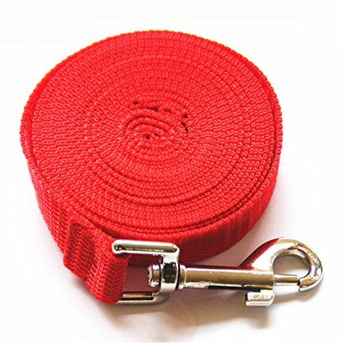 Custom Size 3m 6m 10m 15m 20m 31m 50m Long Dog Leash Pet Training Lead Rope For Small And Medium Size Dog 5 Colors Red 20 With Images Dog Leash Rope
