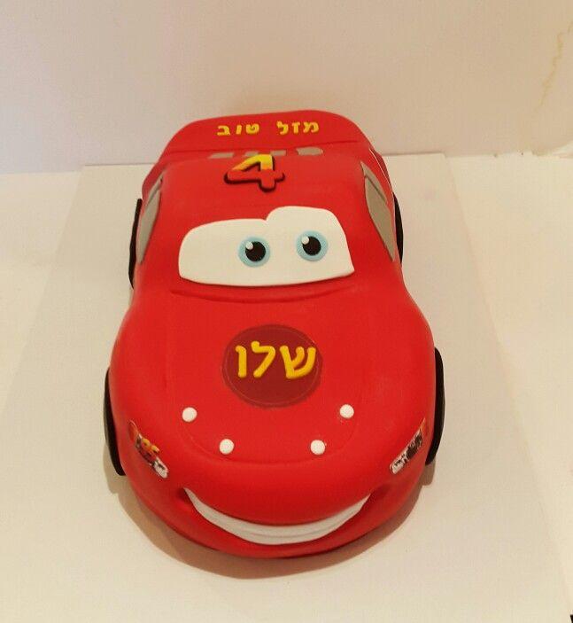 Speedy mcqueen cars cake by Lushiz Boys Man cake Pinterest
