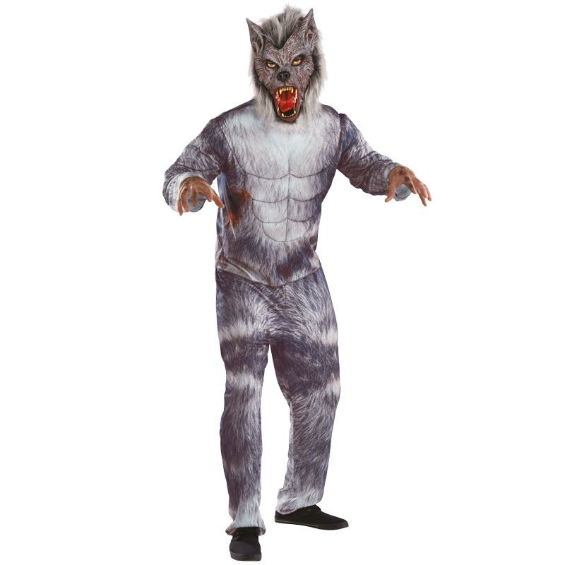 mens werewolf costume transform into a terrifying werewolf with this deluxe mens halloween costume