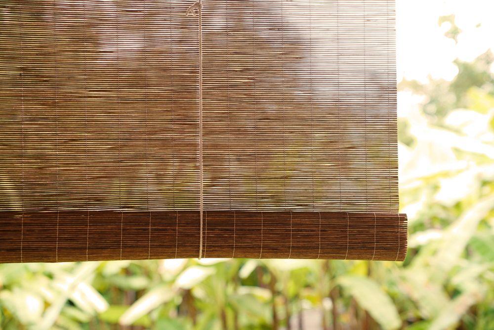 Modelos De Persiana De Rolo Romana E Painel Leroy Merlin Persianas De Bambu Persianas Hogar