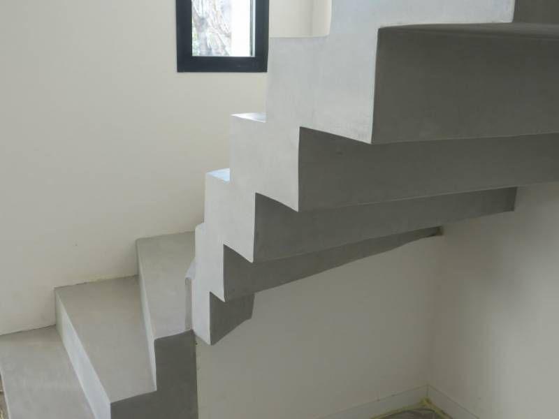 Kit Beton Cire Escalier Sol De Chambre Mur Escalier Beton