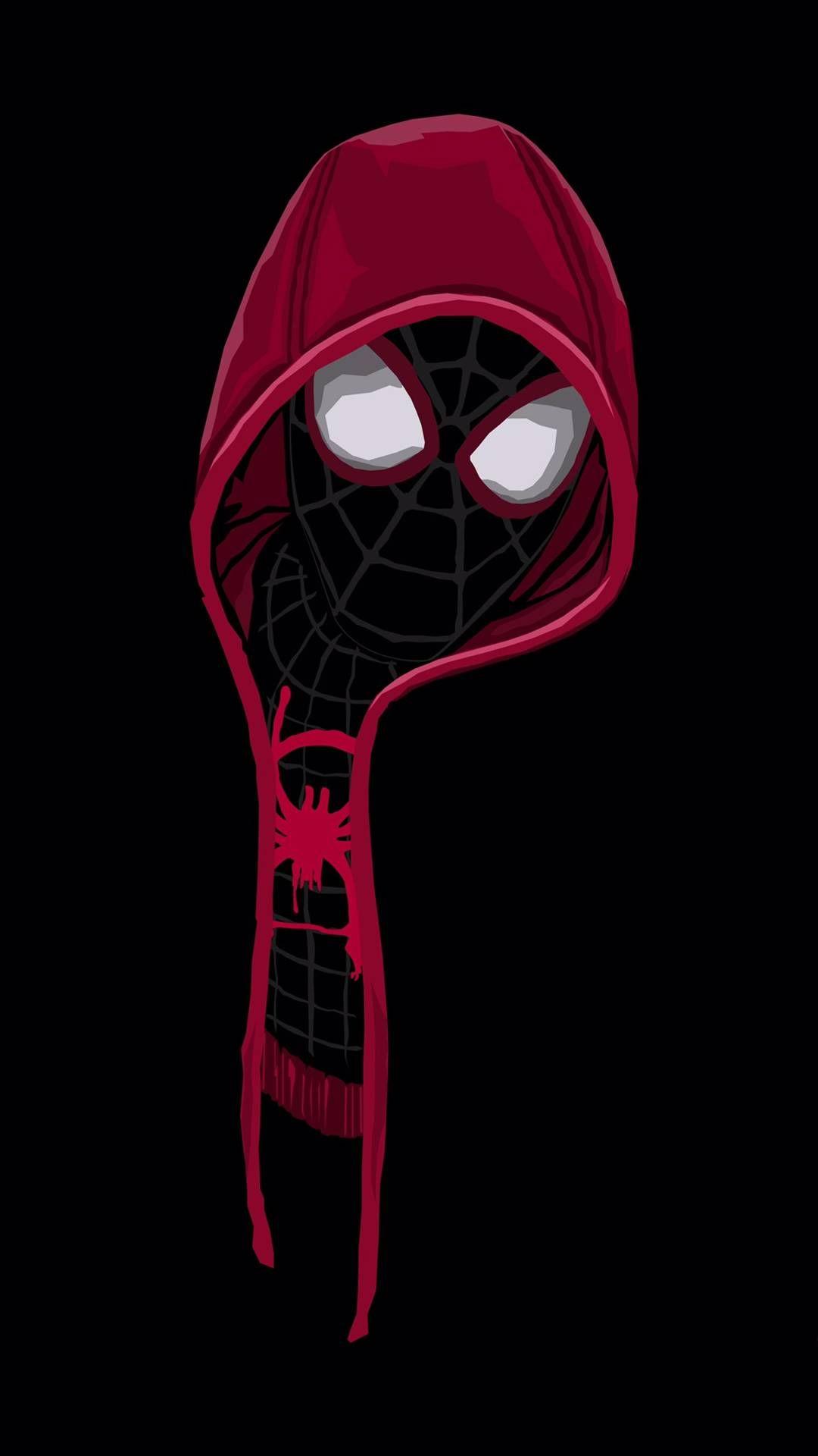 Black Spiderman Hoodie Iphone Wallpaper Spiderman Art Spiderman Artwork Superhero Wallpaper