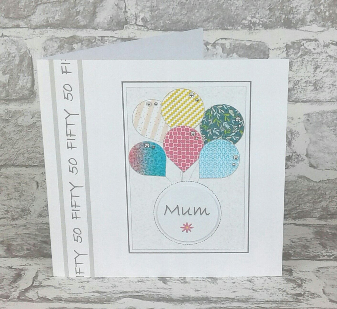 50th Birthday Card Personalised 18th birthday cards
