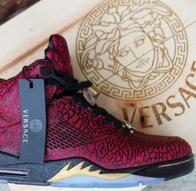 3e3cf41d26d fbccnyc on Instagram, creator of these hot Retro 5 Jordans.   Shoes ...