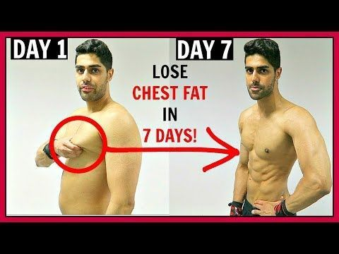 how to lose chest fat at home fast  workout  diet plan