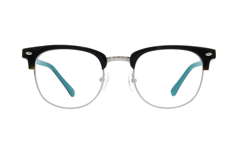 Tortoiseshell Browline Eyeglasses #196125 | Zenni Optical Eyeglasses
