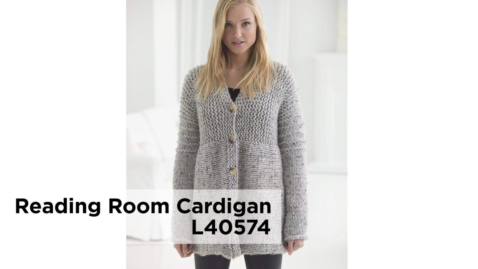 The Reading Room Cardigan - Great Pattern for Your First Sweater ...