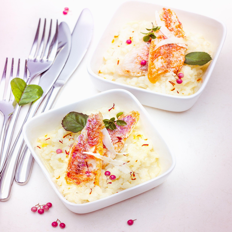 Menu saint valentin risotto au champagne safran et rouget cuisine companion de moulinex votre - Cuisine au champagne ...