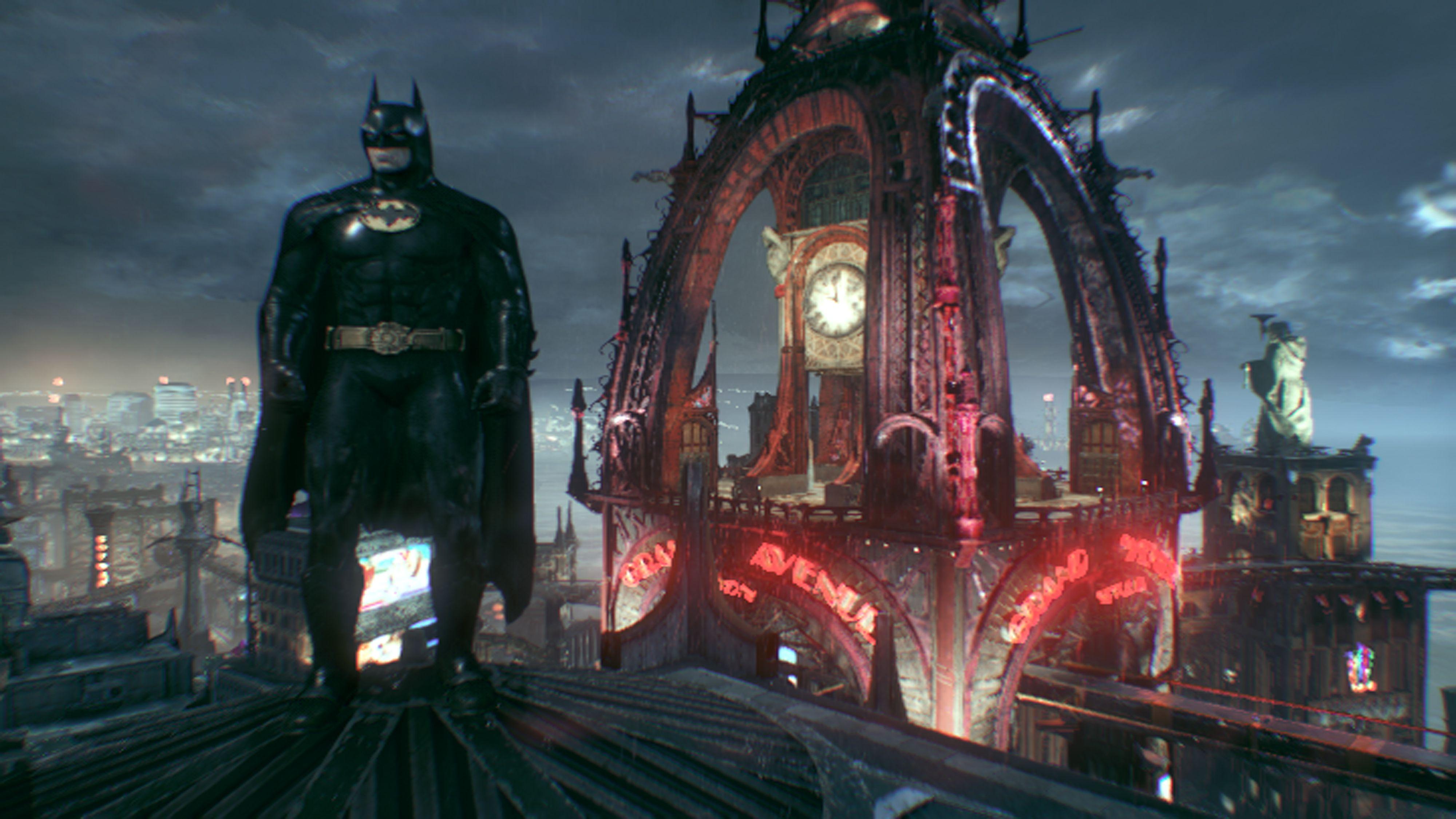 Batman Arkham Knight: 1989 Batman skin.