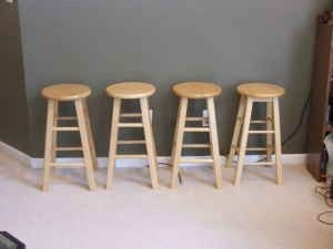 Awesome Cocktail Table Bar Stools Lamp Bakers Rack 50 4871
