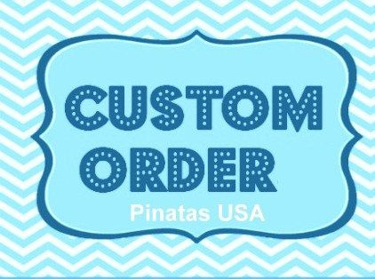 Hey, I found this really awesome Etsy listing at https://www.etsy.com/listing/263388749/custom-number-pinata-your-choice-of