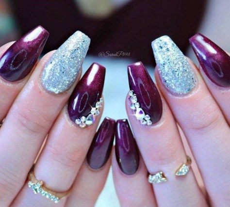 Stunning Nail Art Designs 2018 Nails Pinterest Purple Nail