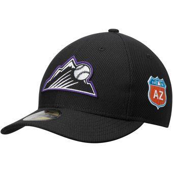 New Era Colorado Rockies Black Spring Training Diamond Era Low Profile 59FIFTY Fitted Hat #colorado #rockies #mlb
