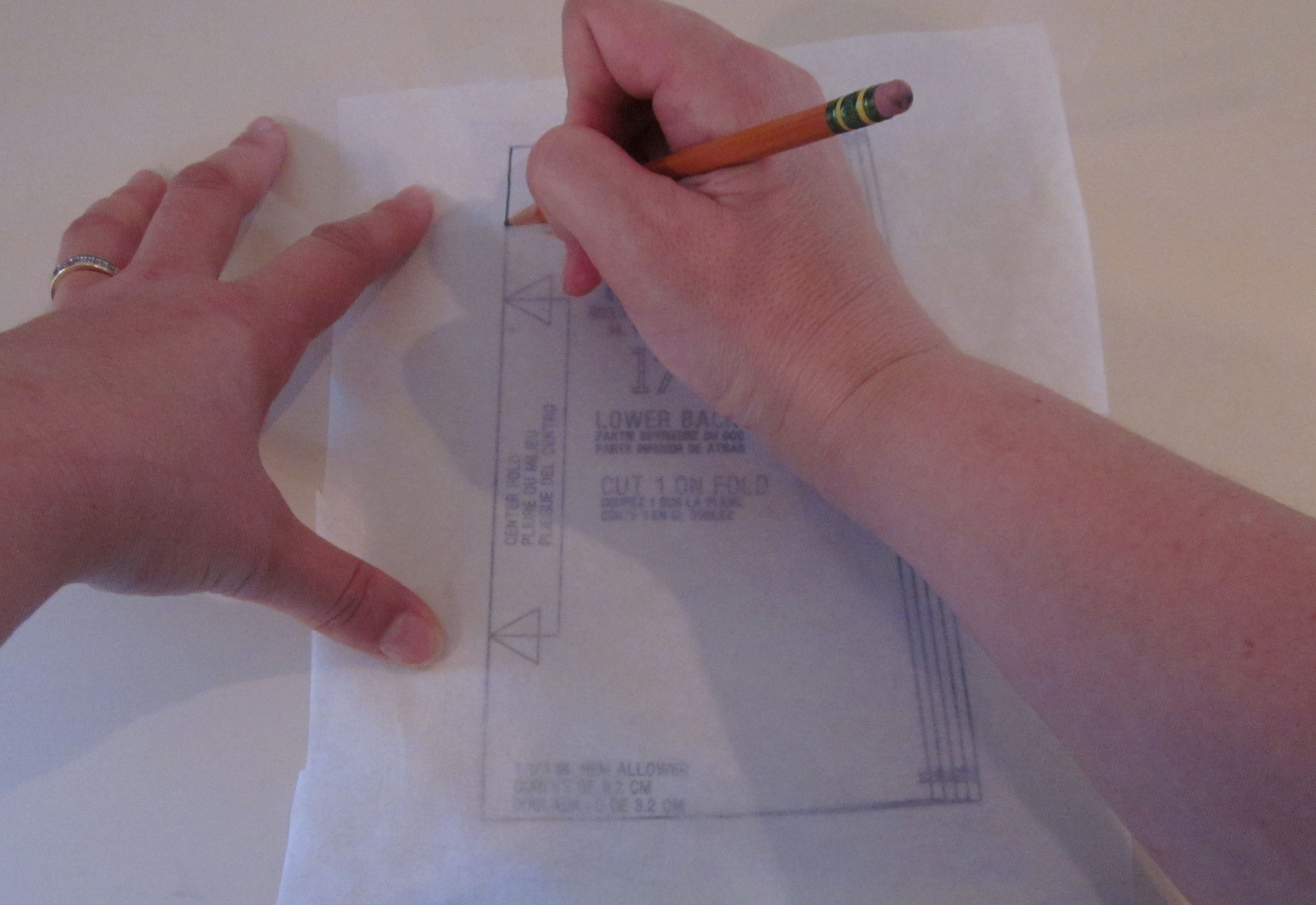 Tutorial How To Use Swedish Tracing Paper To Trace A Pattern