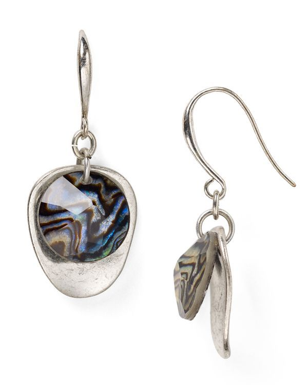 Robert Lee Morris Soho Double Drop Earrings
