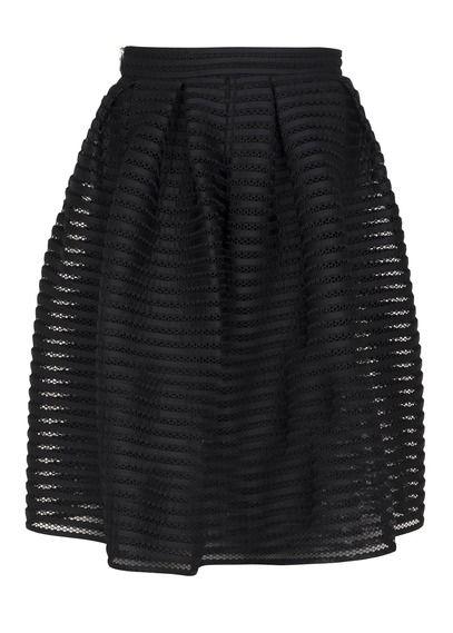 2fc44f63548 Jupe Jam Plissée Noir Maje pour femme sur Place des tendances Groupe  Printemps. Retrouvez toute la collection Maje pour femme.