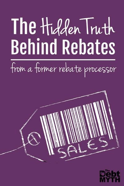 The Hidden Truth Behind Rebates | Frugal living, Frugal and Saving money