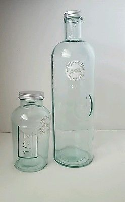 Authentic 100 Recycled Gl Bottle San Miguel Spain Upcycled Vintage Items