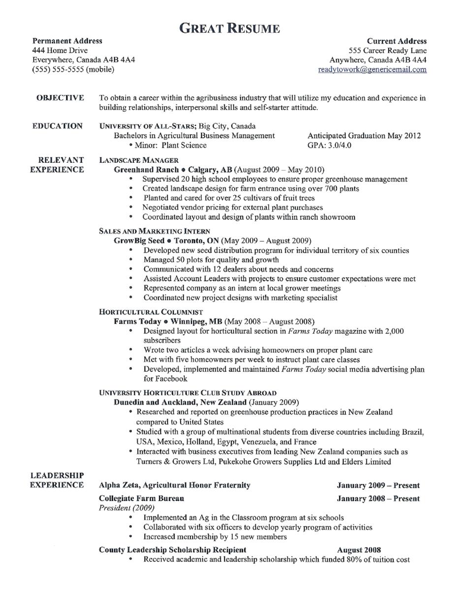 Good Resume Examples http//www.jobresume.website/good