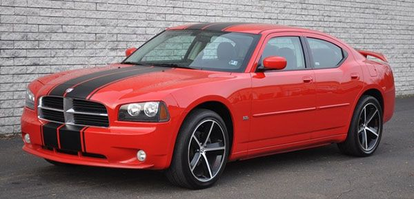 2008 dodge charger racing stripes | 2006 2012 Dodge Charger