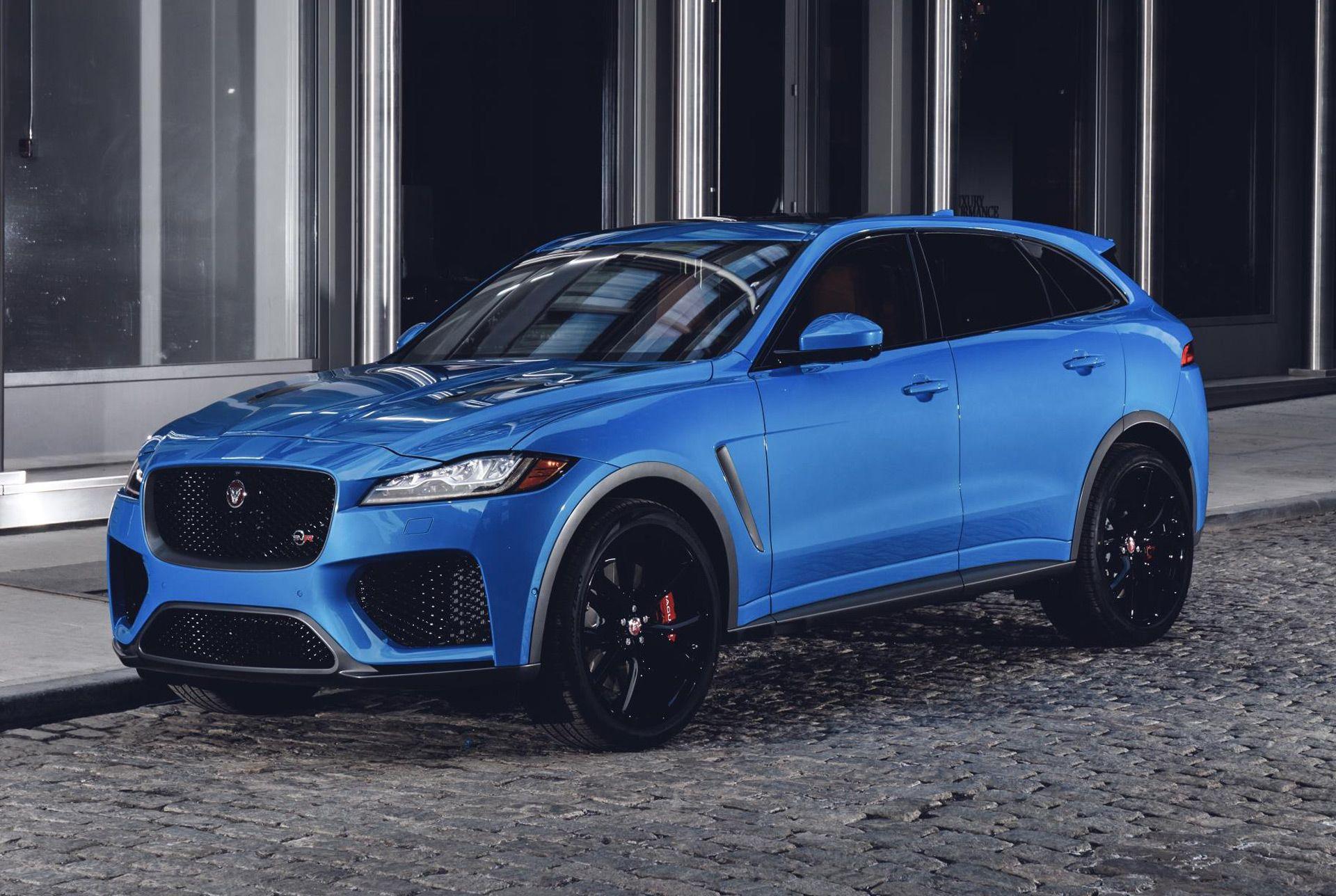 2020 Jaguar F Pace Svr With Images Jaguar Suv Jaguar Car Jaguar