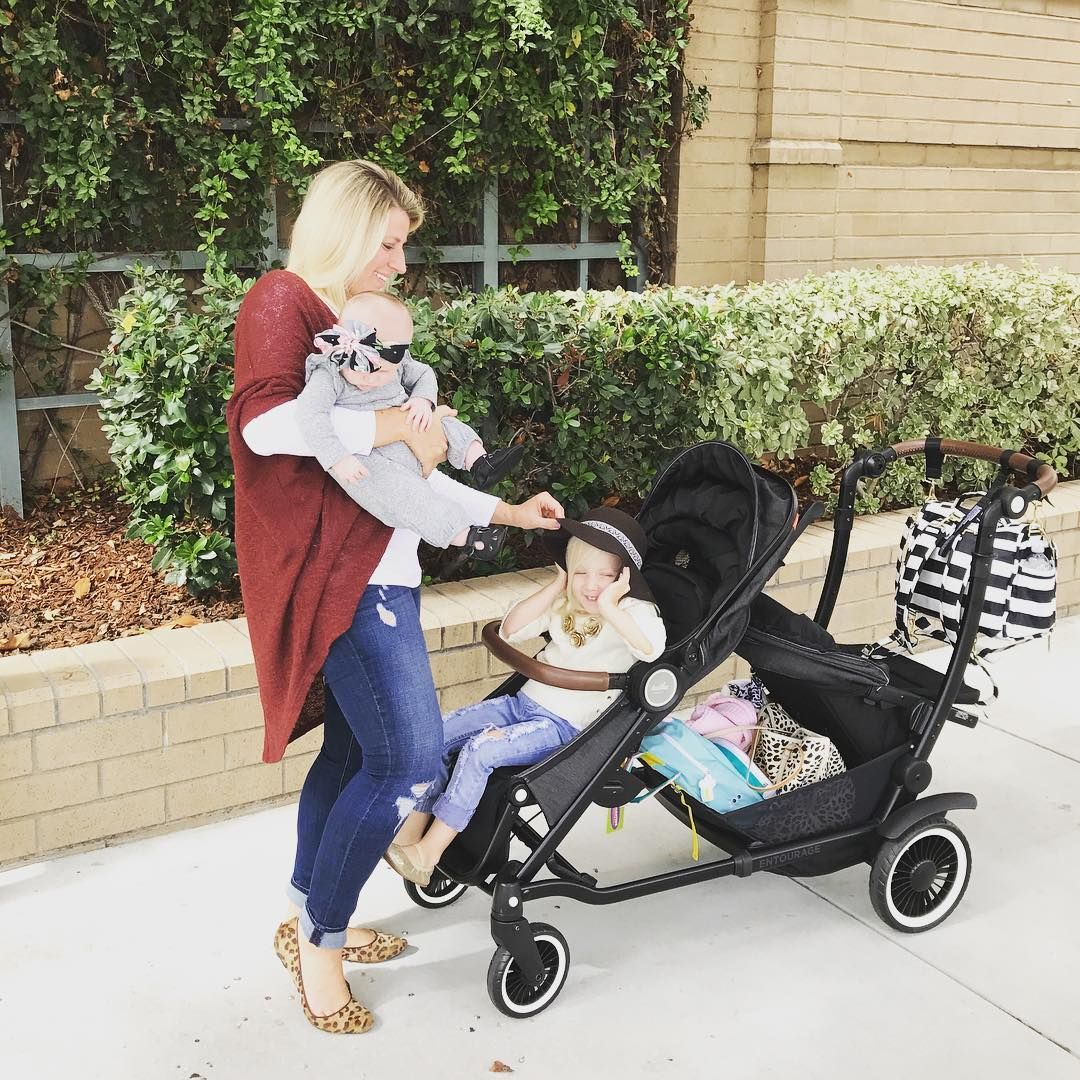 Cart Your Kids And Your Stuff With The Austlen Entourage Stroller