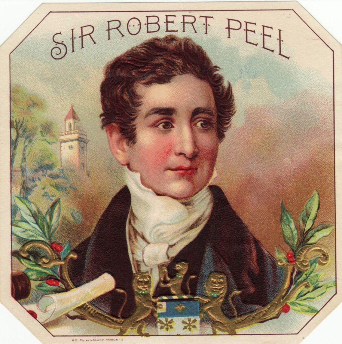 sir robert peel, prime minister of the united kingdom, 1841-1846