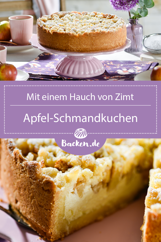 Apfel Schmandkuchen Rezept Von Backen De Rezept In 2020 Schmandkuchen Lebensmittel Essen Schmandkuchen Rezept