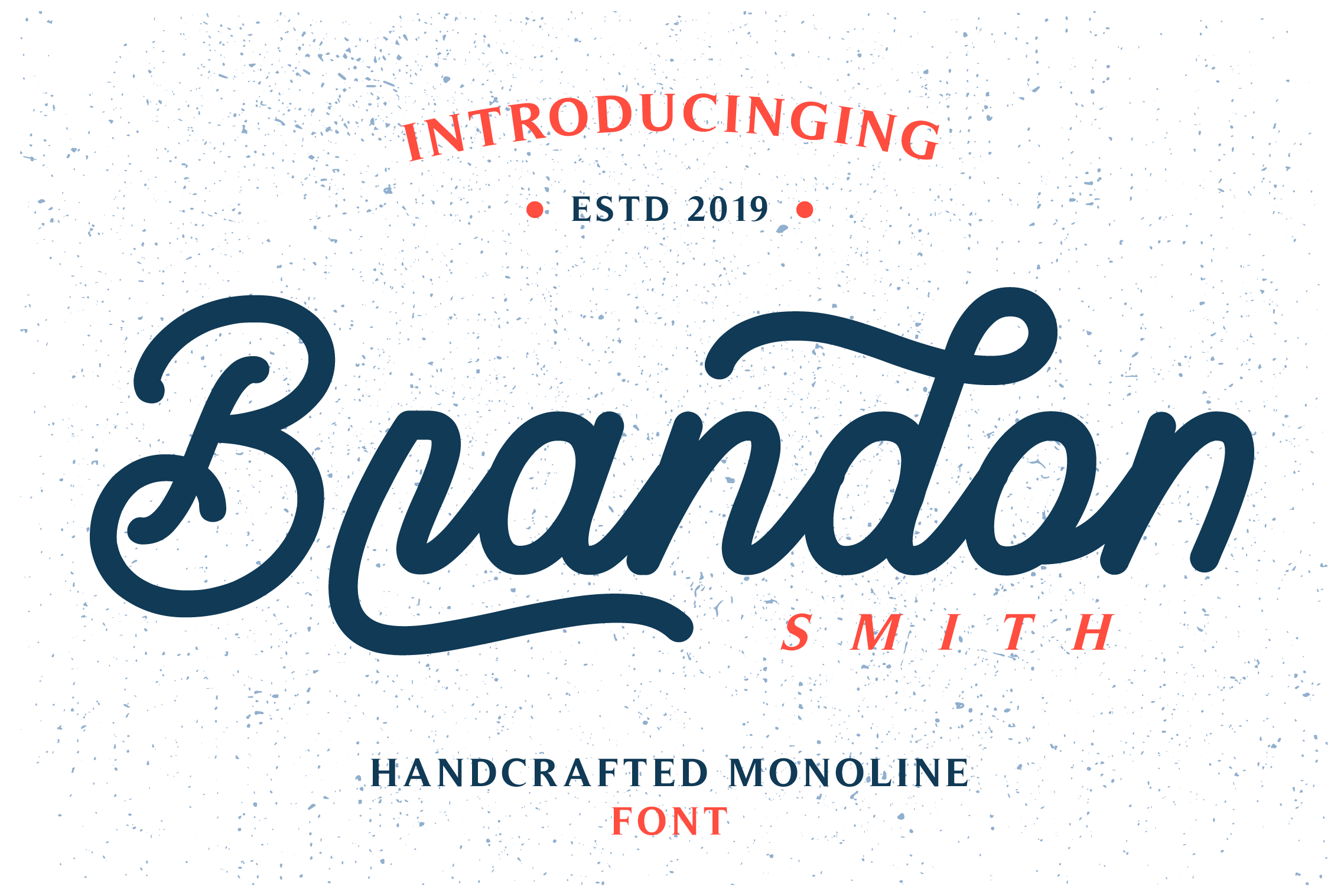 Brandon Smith Monoline Script Font Comes In Two Types Of Fonts Namely Brandon Smith Regular And Brandon S In 2020 Free Fonts Handwriting Lettering Free Handwriting