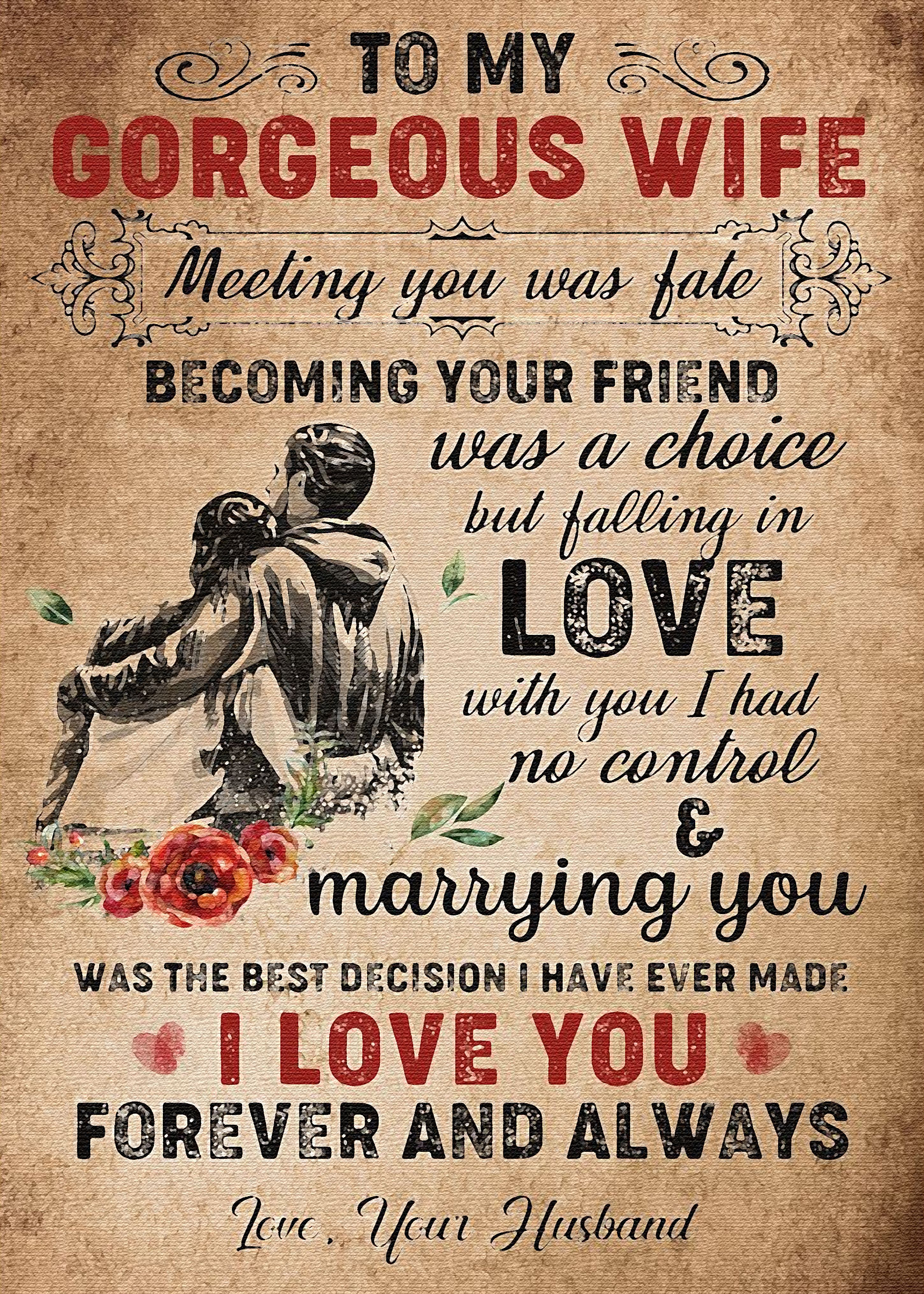 To my wife by alfie4  Love my wife quotes, Love quotes for wife