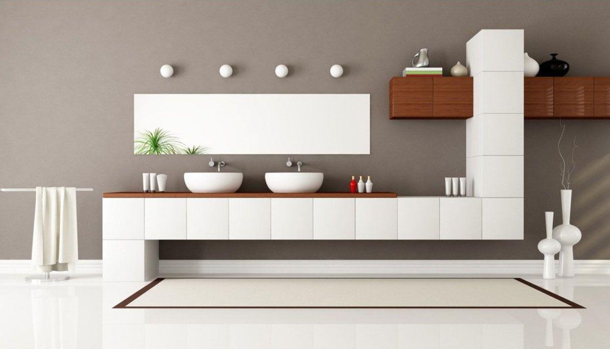 Modernes badezimmerdekor 2018 suchen sie moderne badezimmereitelkeiten als wesentlicher
