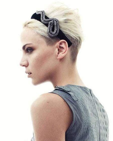 Remarkable 1000 Images About Short Hair Do Care On Pinterest Short Blonde Short Hairstyles For Black Women Fulllsitofus