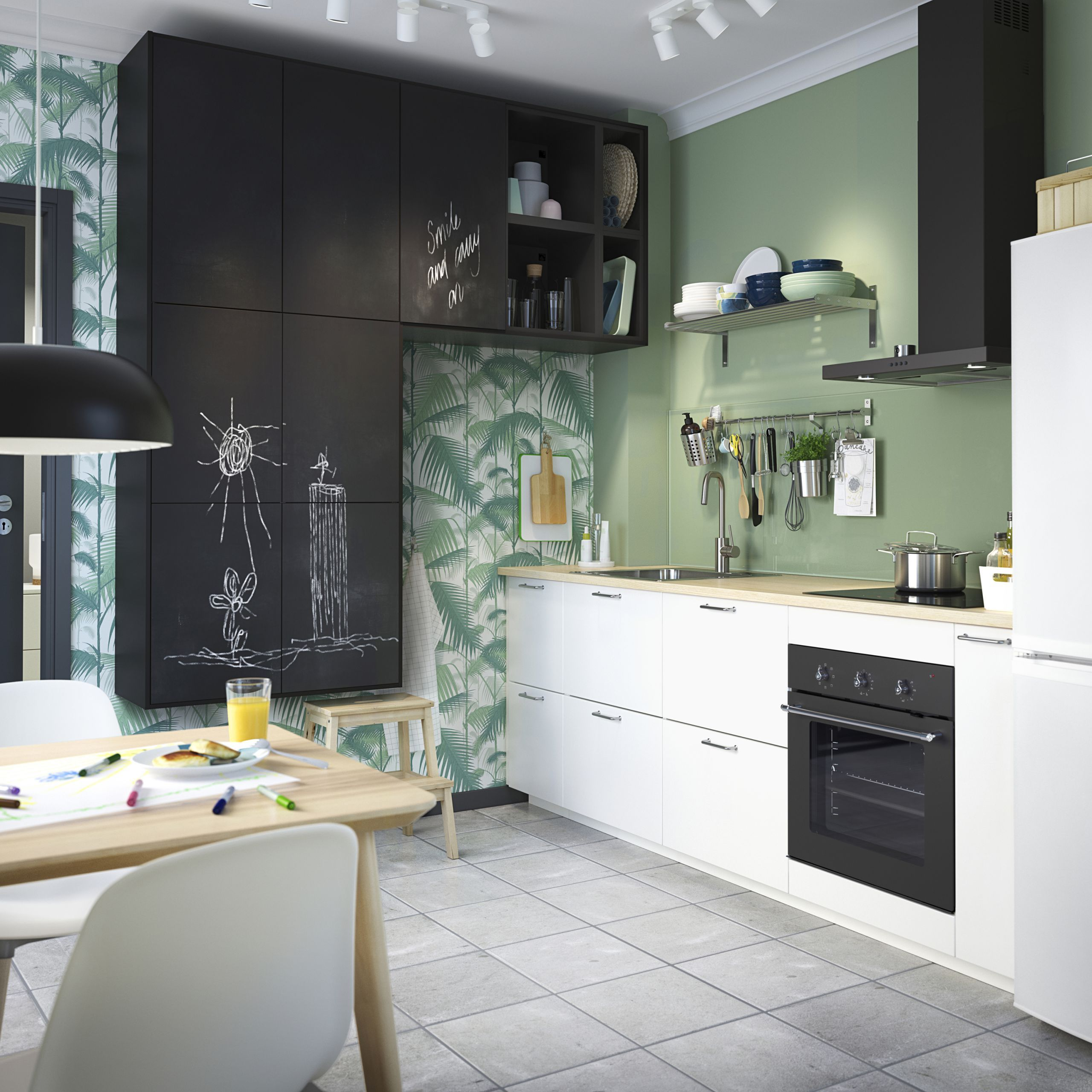 Painted Kitchen Ideas For Walls: Pin On Kujni