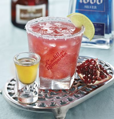 skinny pomegranate cadillac margarita with agave nectar at. Black Bedroom Furniture Sets. Home Design Ideas