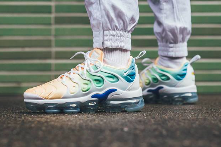 302d10faca70 The Nike WMNS Air VaporMax Plus Light Menta will have a new women s  exclusive colorway dropping this spring. The sneaker will feature a mesh  base in a ...