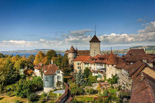 Murten suisse coins et paysages for Le jardin morat