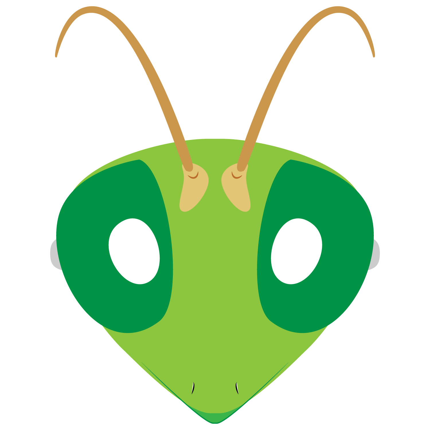 Praying Mantis Mask Template | Free Printable Pape
