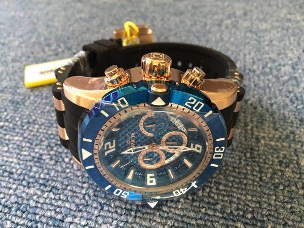 6da4ac22a1b Invicta 23713 Pro Diver クロノグラフ 腕時計