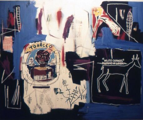 Philistines Impression Gicl/ée Impression sur Toile Jean Michel Basquiat Image sur Toile