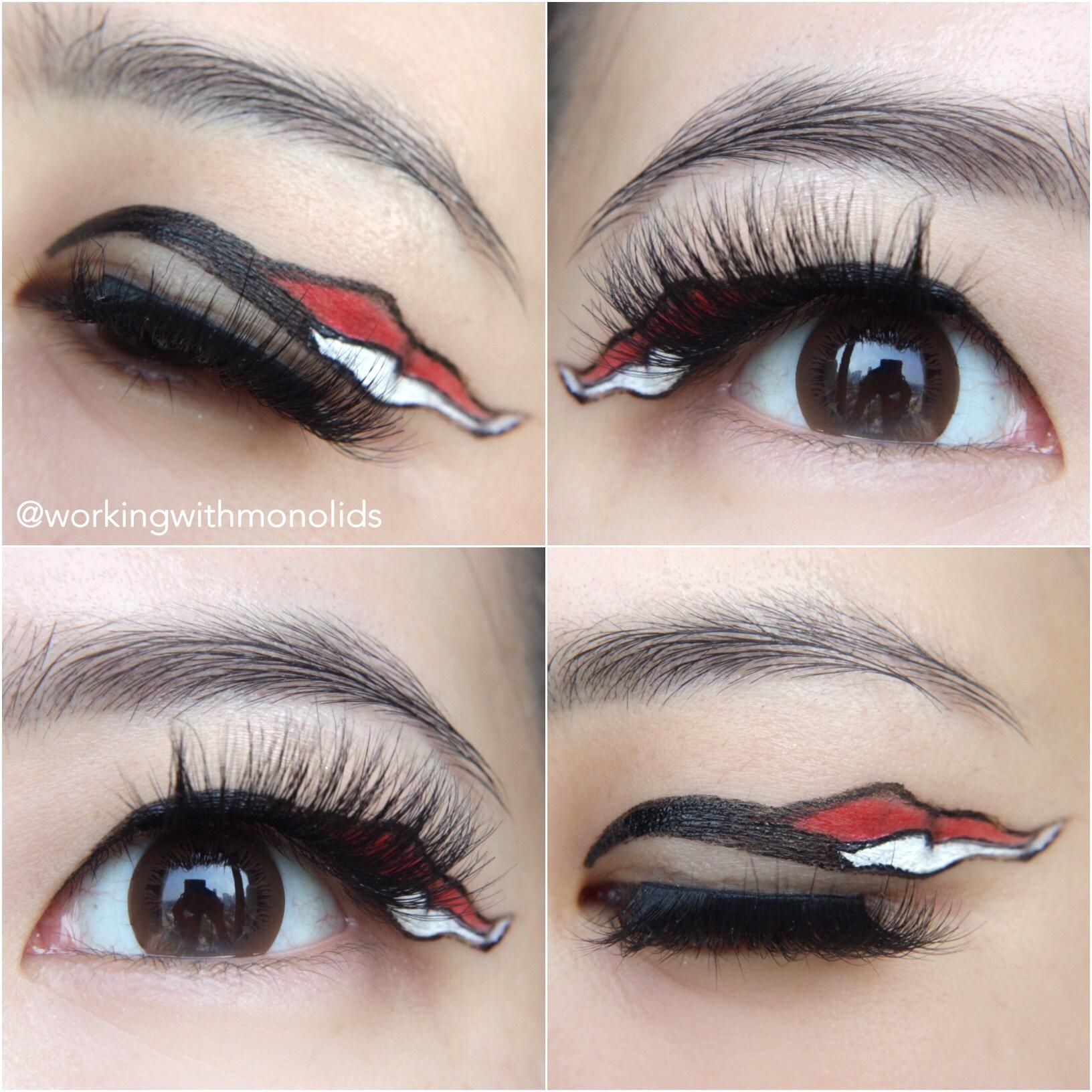 Today Is Indonesia S Independence Day Fantasy Makeup Day Makeup Makeup