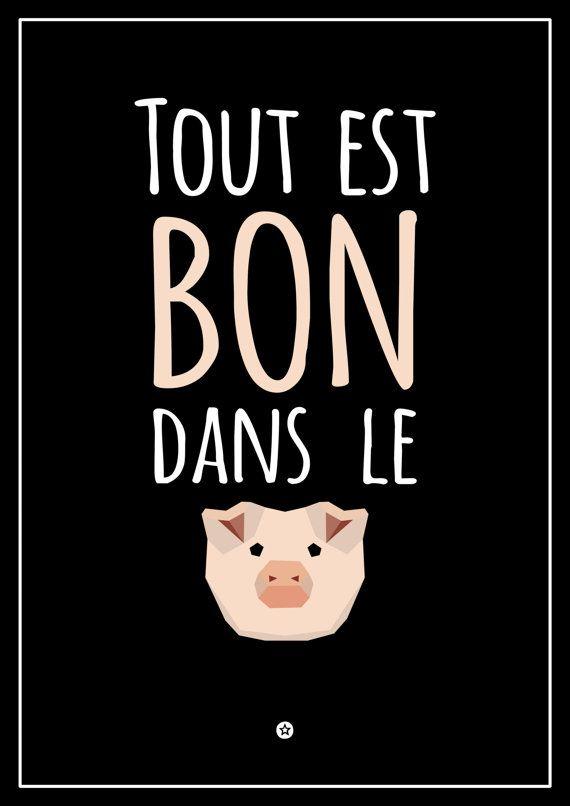 Tout Est Bon Dans Le Cochon : cochon, Épinglé